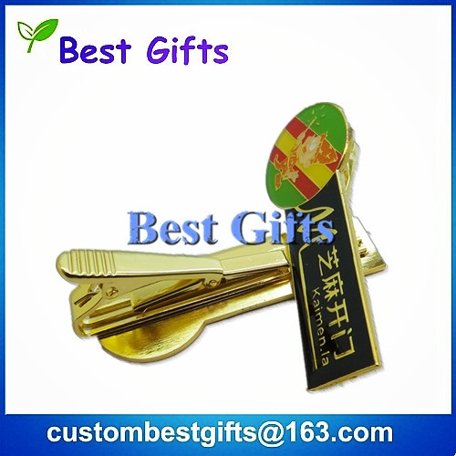 Brass tie bar, custom tie bar for sale