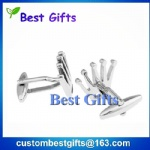 Promotional gifts custom metal cufflinks,cufflinks