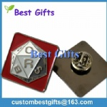 Custom design metal painted lapel pin
