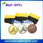 Factory price die casting metal medal, swimming medal