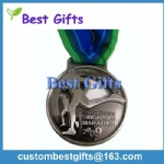 Sports Award Medal, Miraculous Marathon Medal,Custom Gold Running Medal