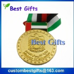 Make custom low price award medal taekwondo medal