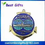 Promotional gifts transparent enamel medal