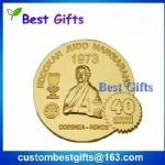 Cheap Custom Promotion Antique Golden Silver Souvenir Replica Stamping Military Metal Coin