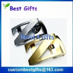Custom Logo Wholesale Metal Automatic Z shape Belt Buckle For Men