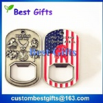 bottle opener with american flag