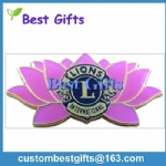 hard enamel lapel pin for lion club
