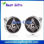 Custom made masonic cufflinks
